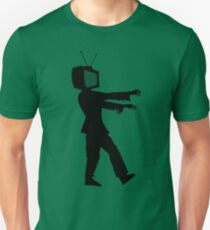 Zombie TV Guy by Chillee Wilson Unisex T-Shirt