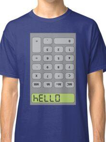 Hello! Calculator Classic T-Shirt