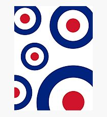 Mod Targets by 'Chillee Wilson'  Photographic Print