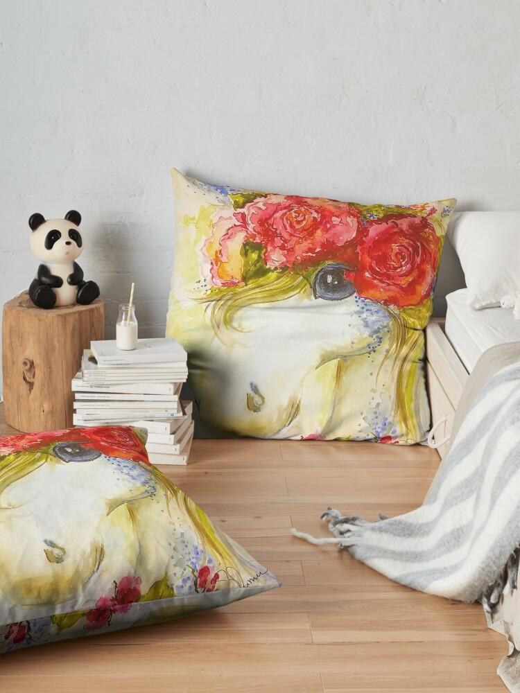 Alternate view of Unicorn Floor Pillow