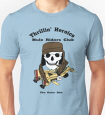 Thrillin' Heroics Mule Riders Club logo Unisex T-Shirt