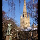 Norwich Cathedral,Norwich,Norfolk, UK by Gordon Holmes