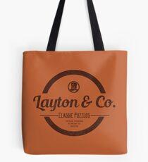 Bolsa de tela Rompecabezas clásicos de Layton & Co.