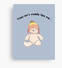 Cuddly Jayne for kids Canvas Print