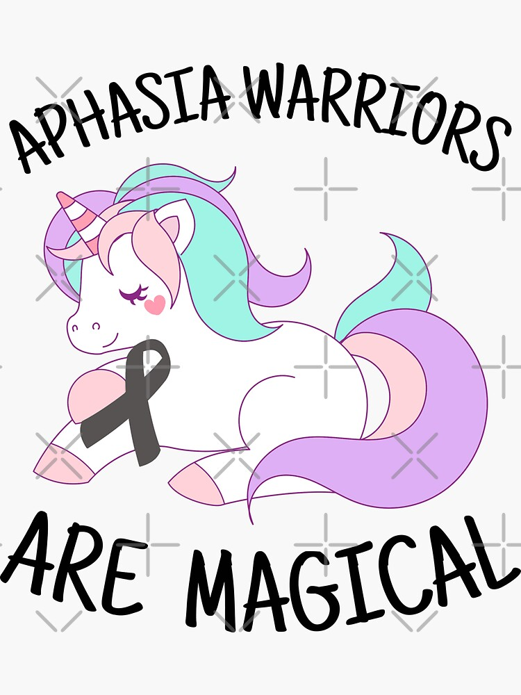 Unicorn Aphasia Warriors Are Magical, Aphasia Awareness Shirt by Ripper19