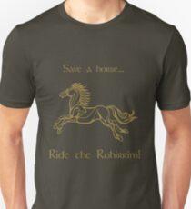 Save a horse... Ride the Rohirrim! - Tan Unisex T-Shirt
