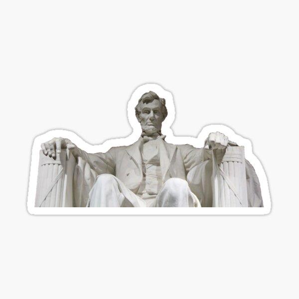 Mr. Lincoln Sticker