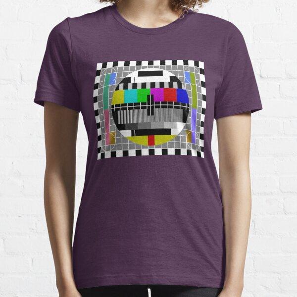 Modèle de test TV T-shirt essentiel