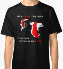 God of War Fear The Man Classic T-Shirt