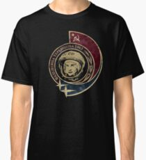 Valentina Tereshkova Vintage Emblem V01 Classic T-Shirt