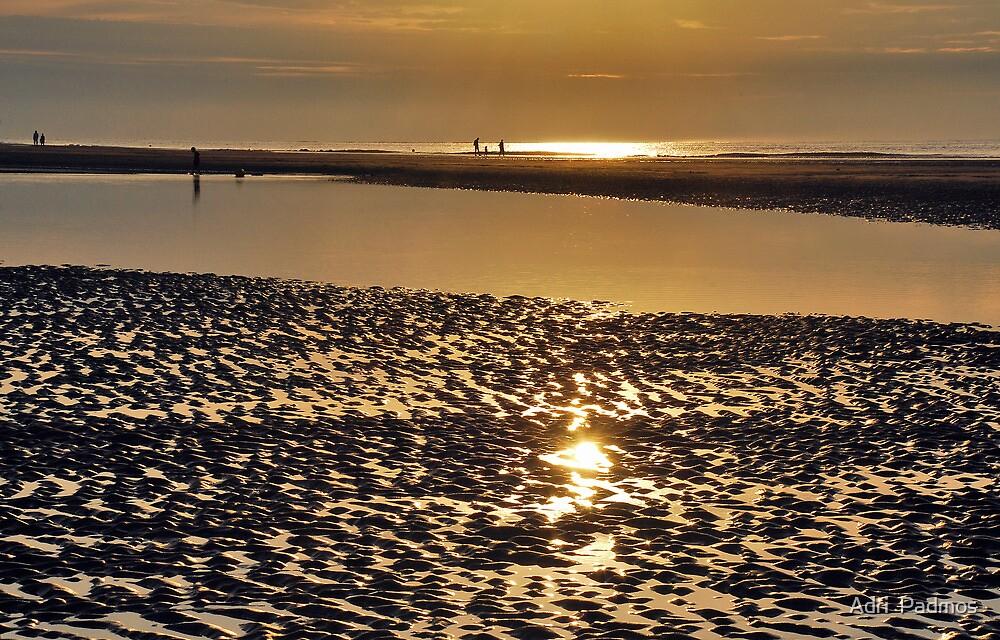 Seaside sunset by Adri  Padmos