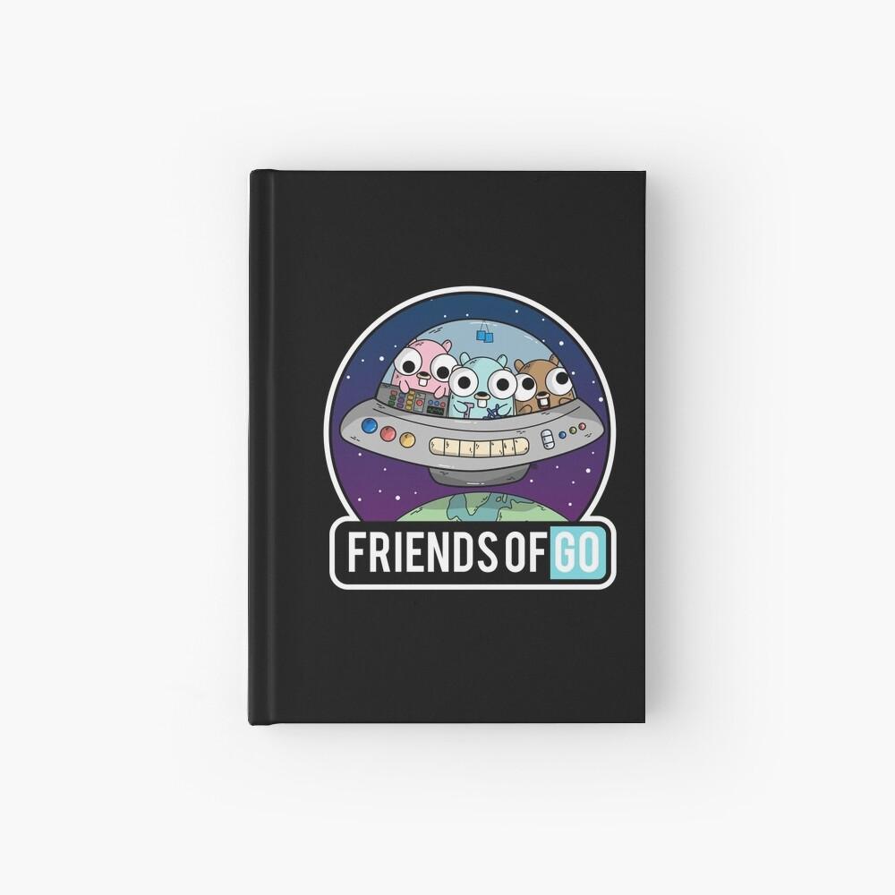 Friends of Go Cuaderno de tapa dura