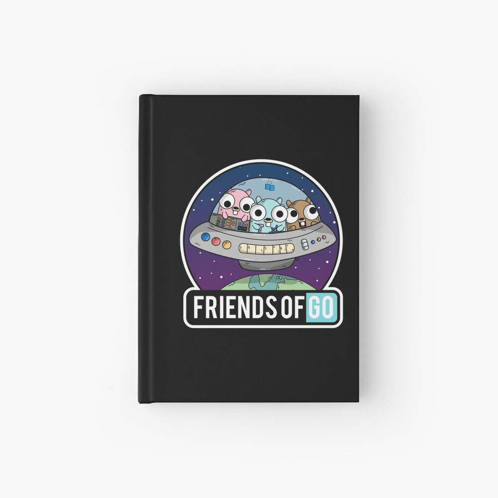 Friends of Go Cuaderno de tapa dura