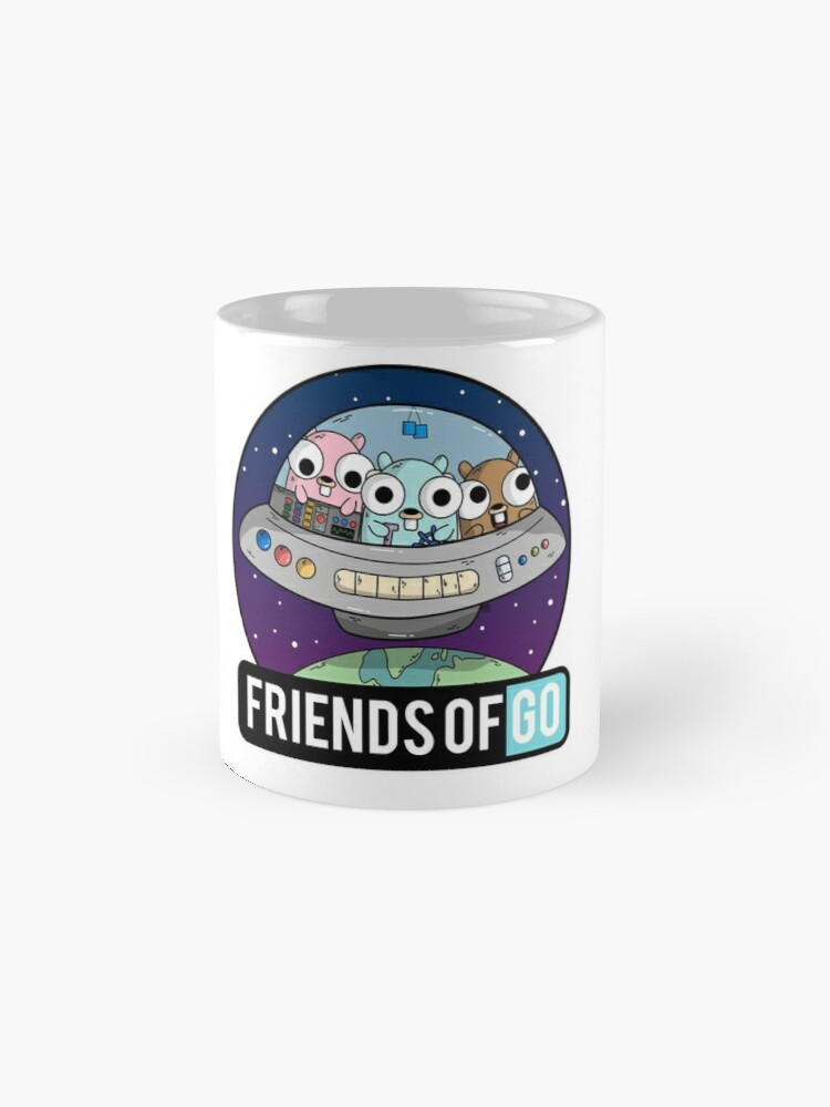 Vista alternativa de Tazas Friends of Go