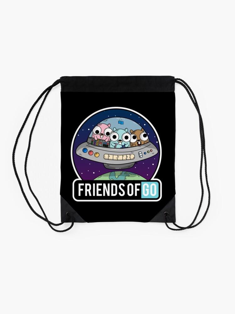 Vista alternativa de Mochila saco Friends of Go