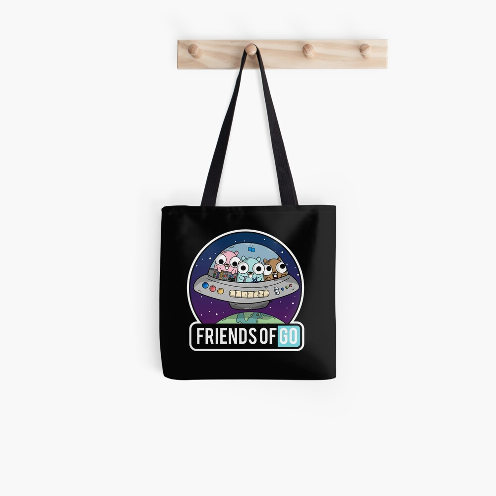 Friends of Go Bolsa de tela
