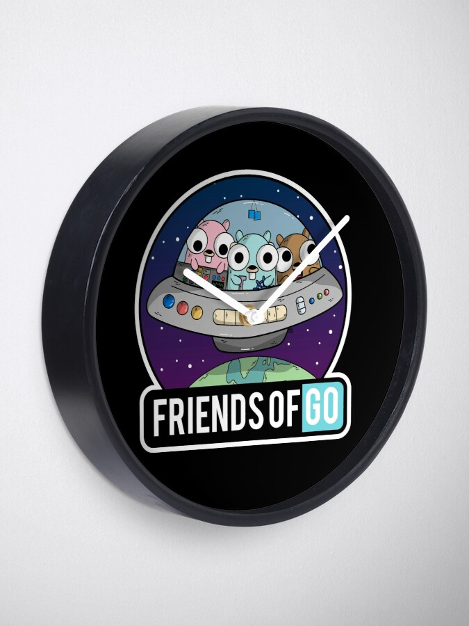 Vista alternativa de Reloj Friends of Go