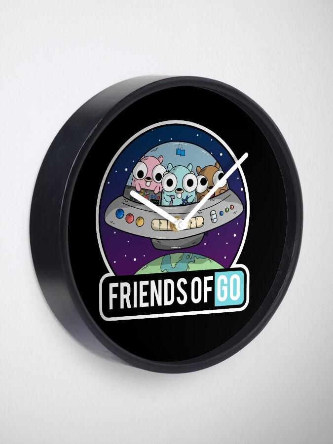 Vista alternativa de Reloj Friends of Go