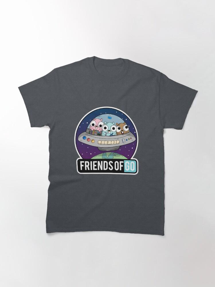 Vista alternativa de Camiseta clásica Friends of Go