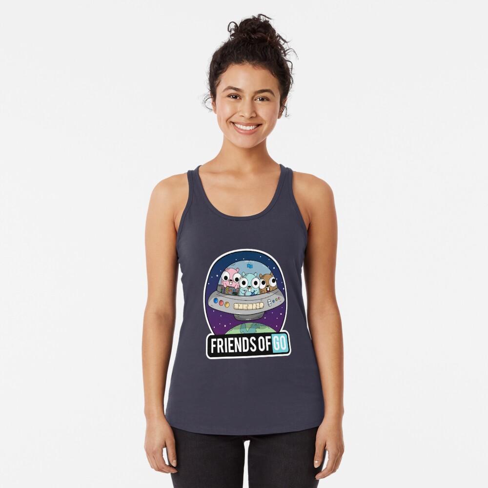 Friends of Go Camiseta con espalda nadadora