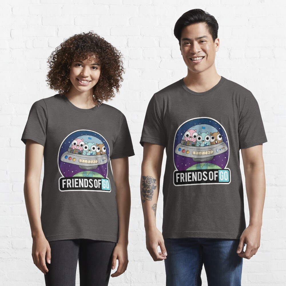 Friends of Go Camiseta esencial