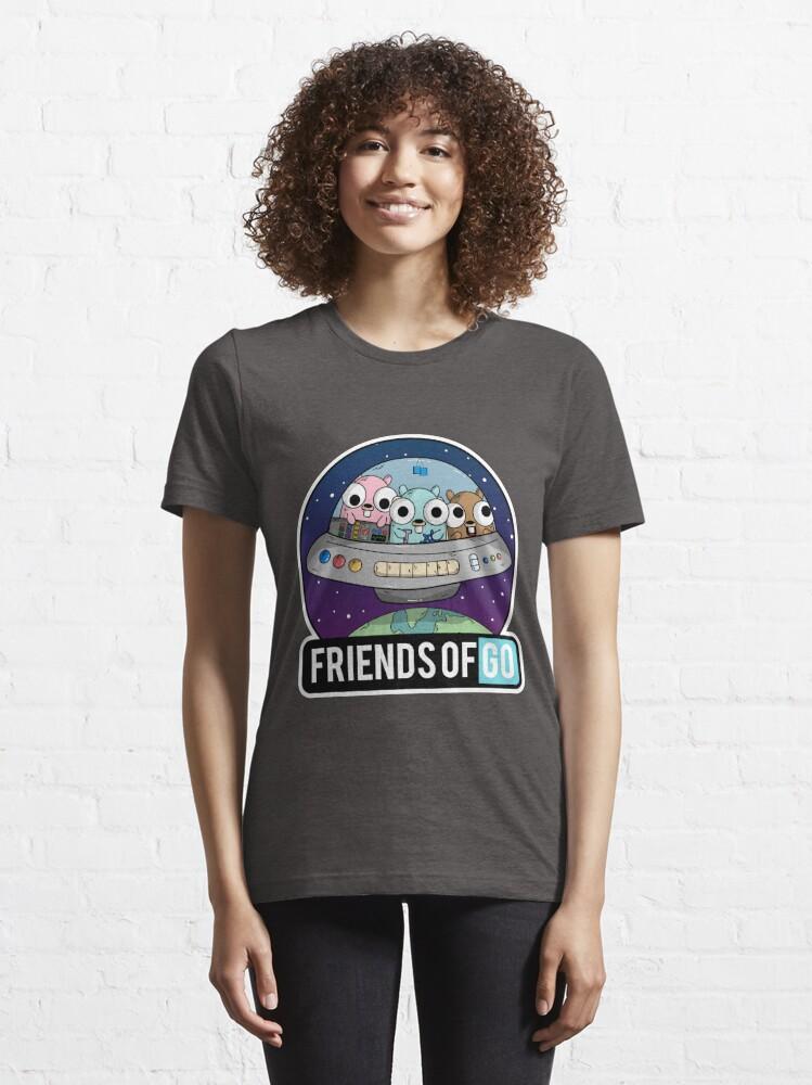 Vista alternativa de Camiseta esencial Friends of Go