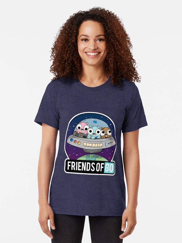 Vista alternativa de Camiseta de tejido mixto Friends of Go