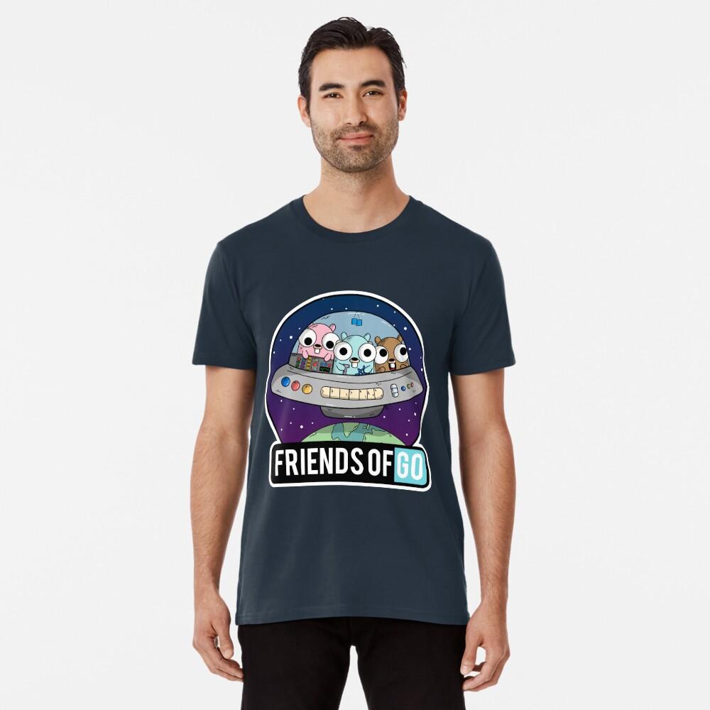 Friends of Go Camiseta premium