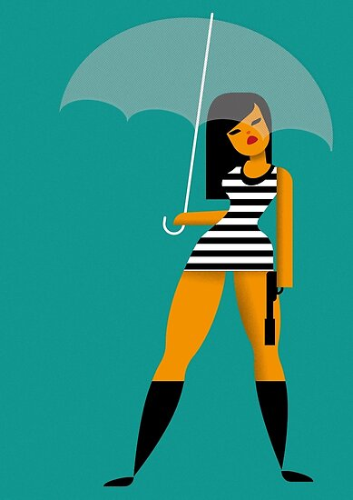 Umbrella girl by Marco Recuero