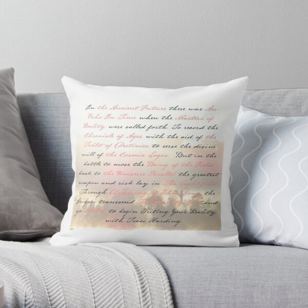 The Story So Far - Traci Harding Throw Pillow