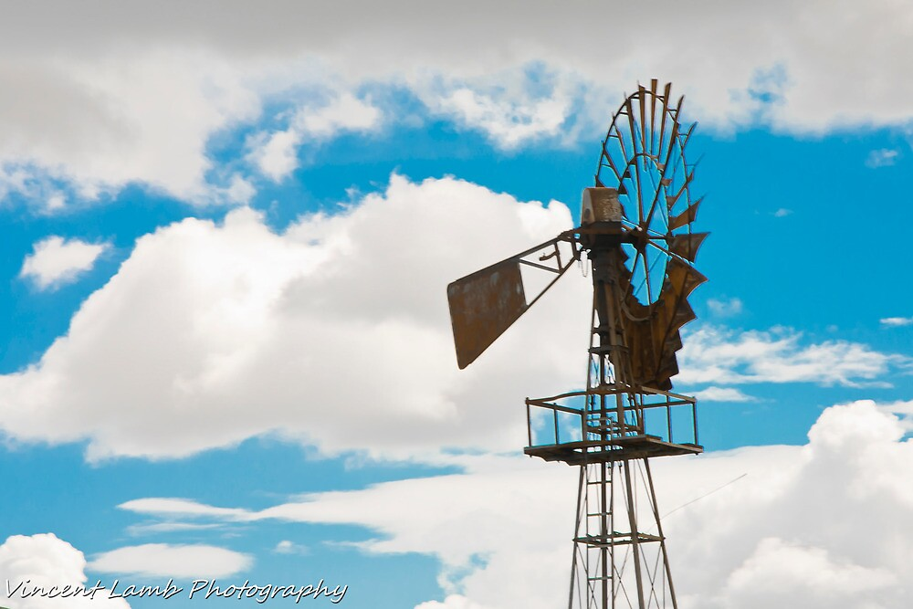 wind mill by Vincent Lamb
