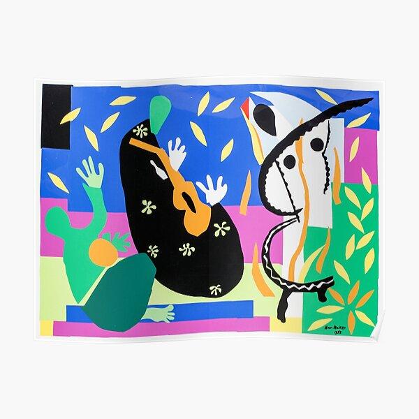 Henri Matisse Sorrow of the King, 1952 , Artwork Design, Poster Tshirt, Tee, Jersey, Postcard Poster