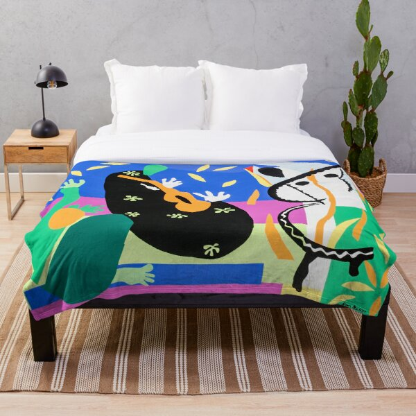Henri Matisse Sorrow of the King, 1952 , Artwork Design, Poster Tshirt, Tee, Jersey, Postcard Throw Blanket