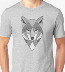 Abstract Wolf Head Unisex T-Shirt