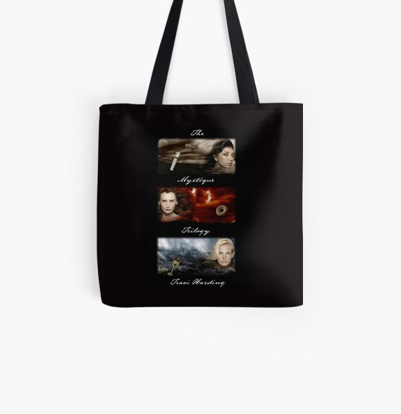 The Mystique Trilogy - Traci Harding All Over Print Tote Bag