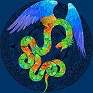 Aztec Angel by ferinefire