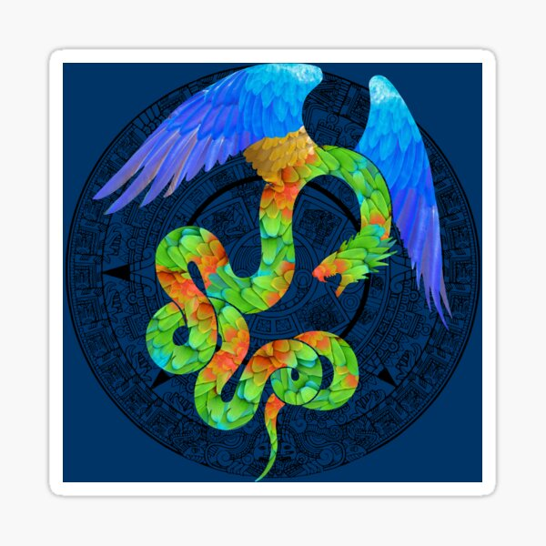 Aztec Angel Sticker