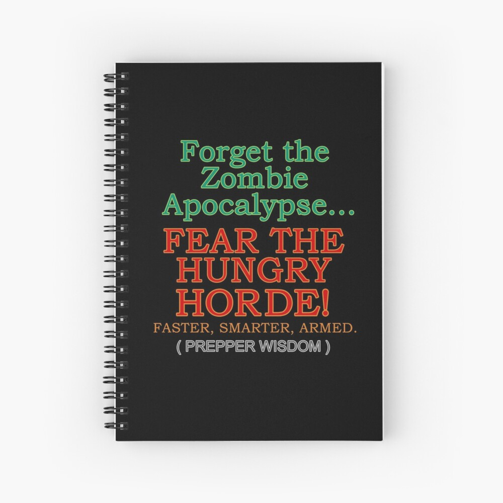 The Hungry Horde Spiral Notebook