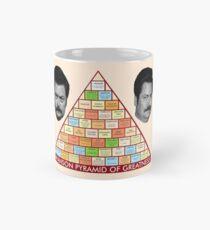 Ron Swanson's Pyramid Of Greatness Classic Mug