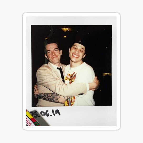 Pete and John Sticker