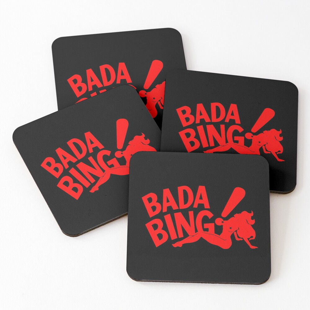 Bada Bing Coasters (Set of 4)
