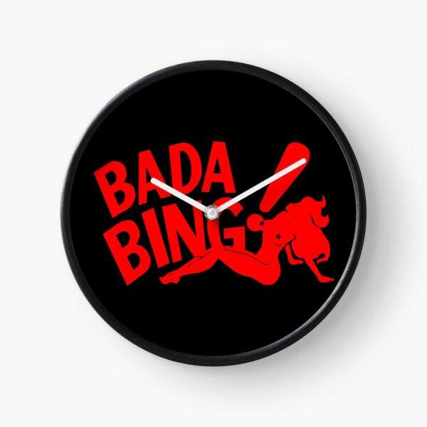 Bada Bing Clock