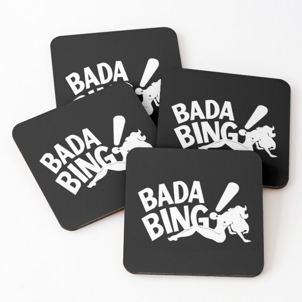 Bada Bing Coasters (Set of 4)