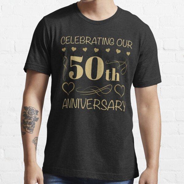 50 aniversario de boda Camiseta esencial