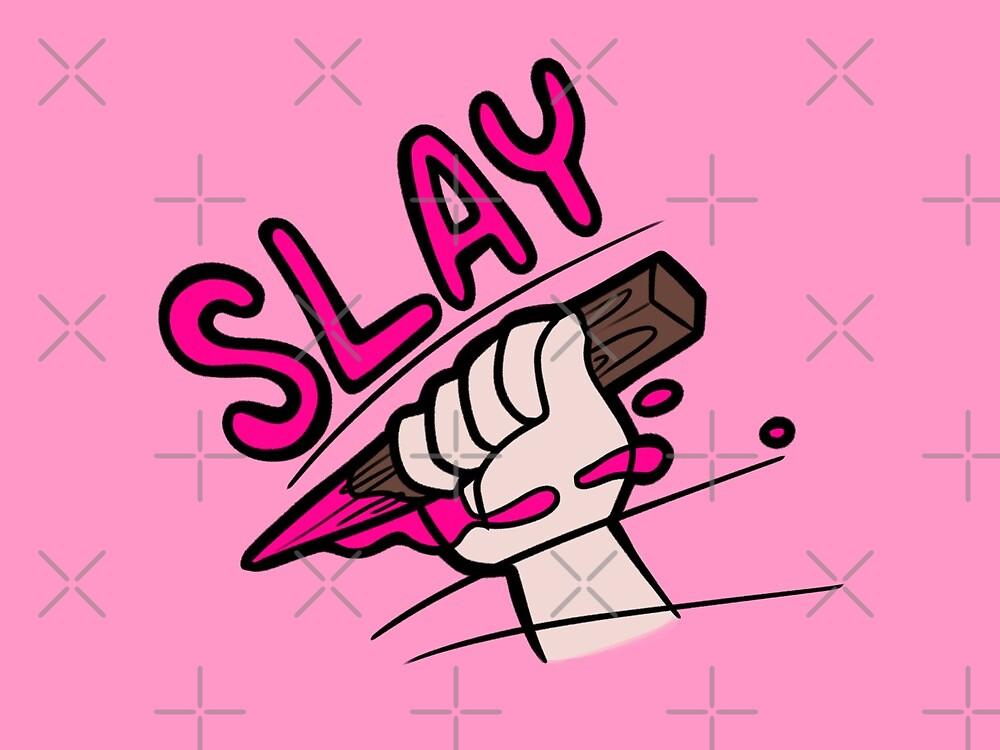 You Slay like Buffy by evocaitart