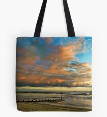 Southend on Sea at Sunset Tote Bag