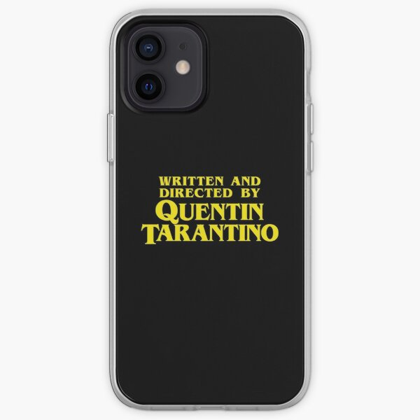 Written and Directed by Quentin Tarantino Coque souple iPhone