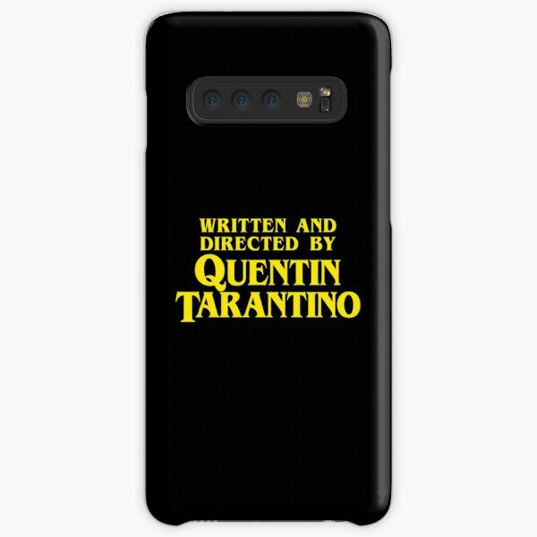 Written and Directed by Quentin Tarantino Samsung Galaxy Snap Case