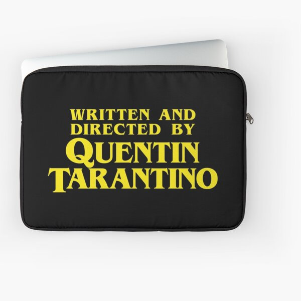 Written and Directed by Quentin Tarantino Housse d'ordinateur