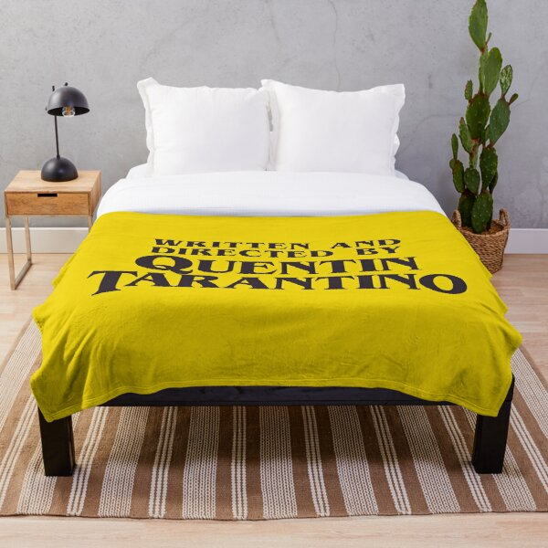 Written and Directed by Quentin Tarantino Throw Blanket